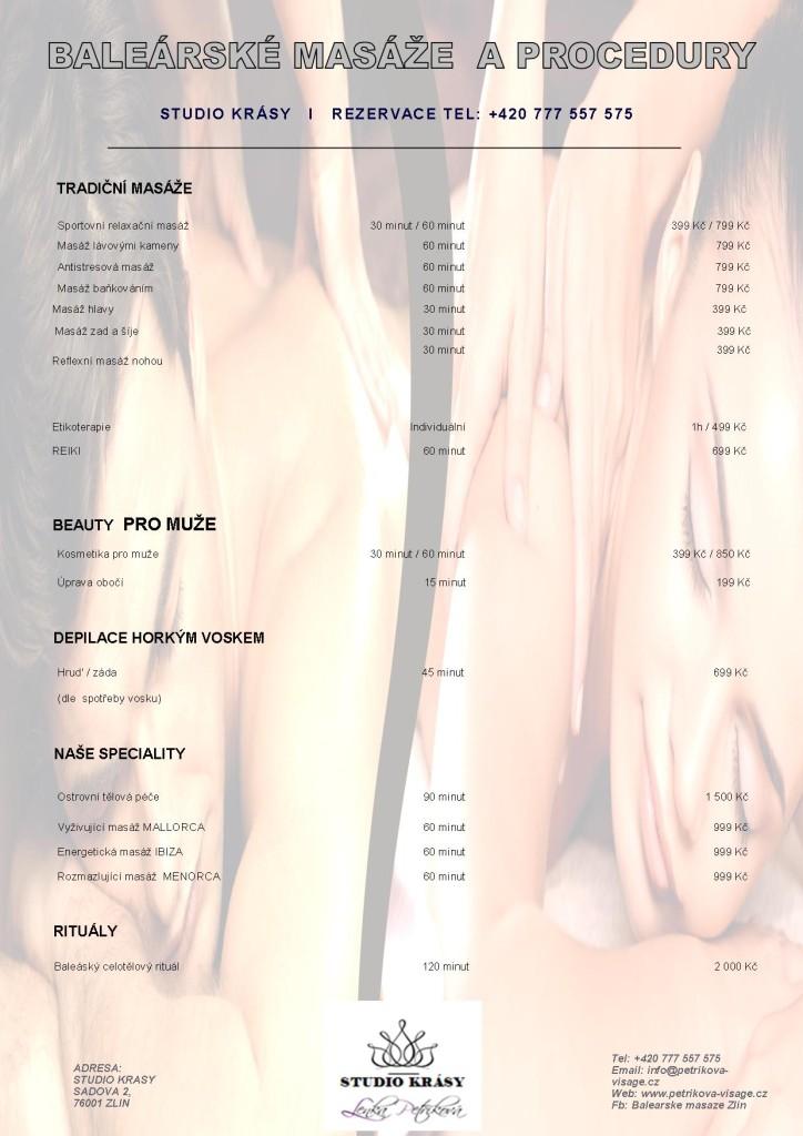 Masáže a procedury pro muže